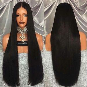 Black Long Straight Hair Wig